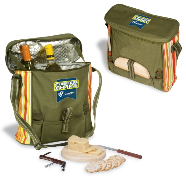 Picnic Cooler, Insulated 600 Denier Polyester And Adjustable Straps Photo
