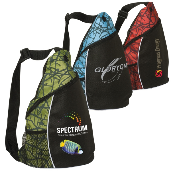 Shoulder Backpack With Zippered Compartment. Closeout Photo