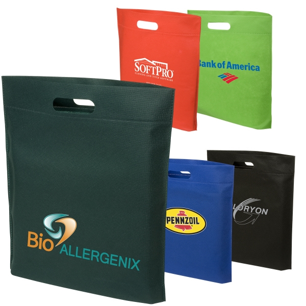 Eco-responsible (tm) - Hot-sealed Shopping Bag. Closeout Photo