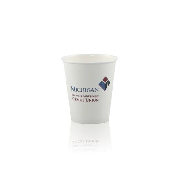 6 oz  Paper Cup - White - Hi-Speed