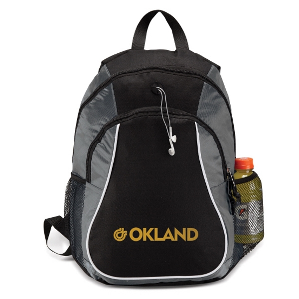 Two Full Zipper Compartments Sports Backpack Photo