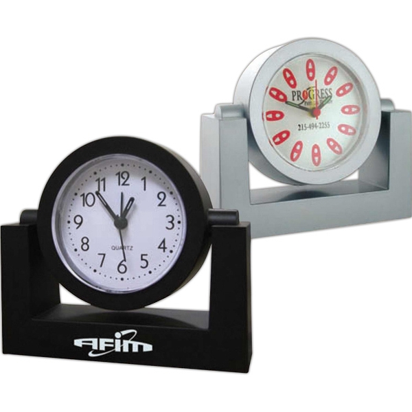 Swivel Alarm Clock. Rotate Clock For Easy View Photo