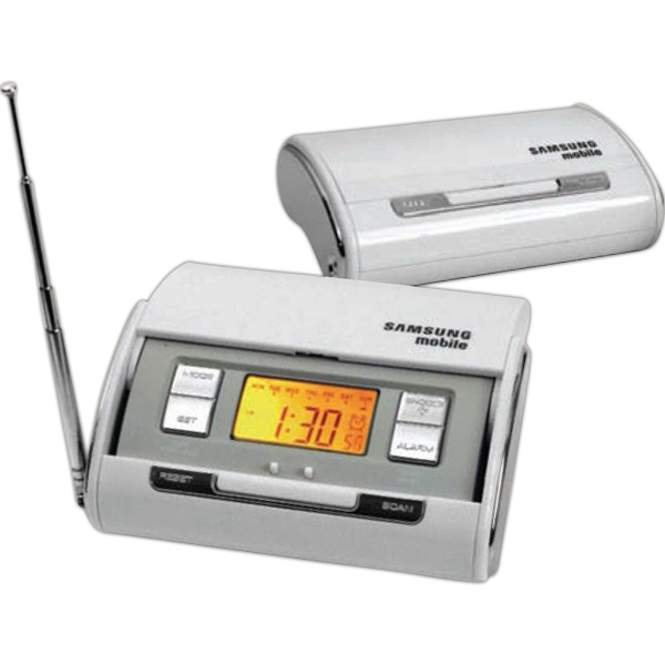 Hide & Seek - Travel Clock Radio. Functions Include Alarm With Snooze And Calendar Photo