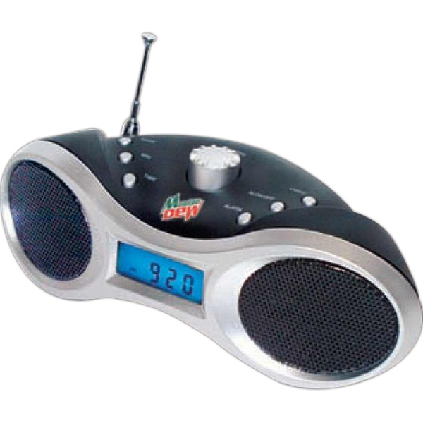 Eyes On You - Digital Tuned Am/fm Clock Radio With Travel Alarm And Big Sound Output Photo