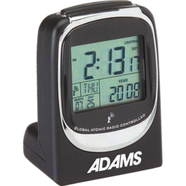 Atomic - Twist And Stand Global Atomic Alarm Clock, Radio Controlled Features Daily Snooze Photo