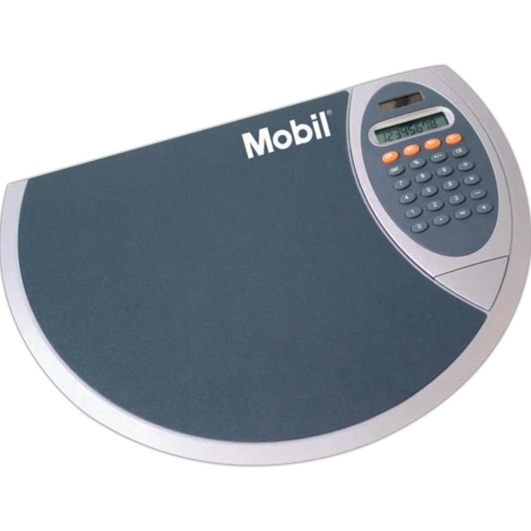 Mouse Pad With 8-digit Solar Detachable Dual Powered Calculator Photo