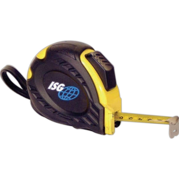 Retractable Tape Measure That Measures Up To 25 Feet With Belt Clip And Carry Strap Photo