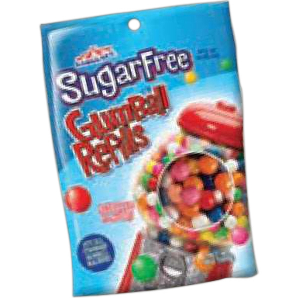 16 Oz. Bag Of Sugar Free Gumballs. Blank Photo