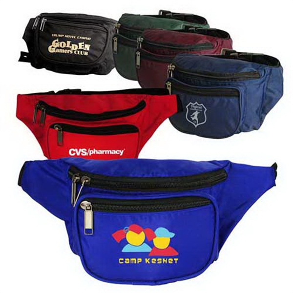 3-zippered Fanny Pack Photo