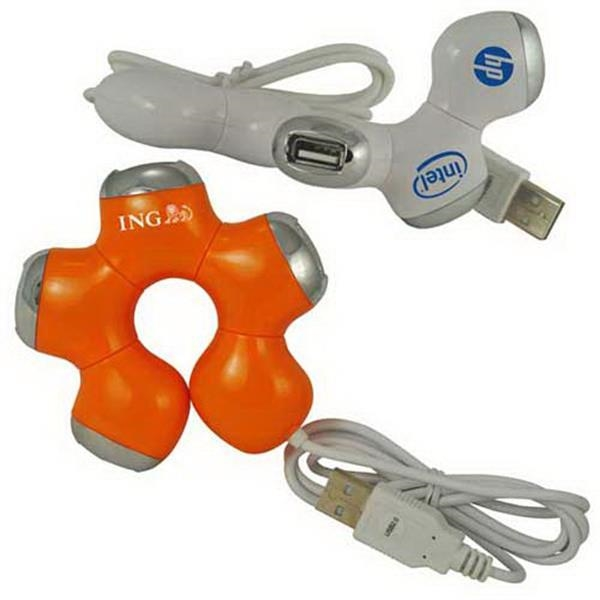 Twister 4-port Usb 2.0 Hub Photo
