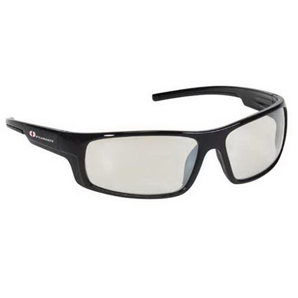 Provizgard - Contemporary Style Safety Glasses With Indoor/outdoor Lens With Black Frame Photo
