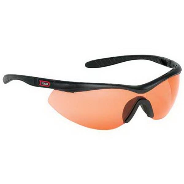 Provizgard - Red Lens - Single-piece Lens Wrap-around Safety Glasses Photo