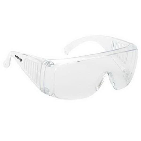 Provizgard - Clear Lens And Frame - Large Frame Single-piece Lens Safety Glasses Photo