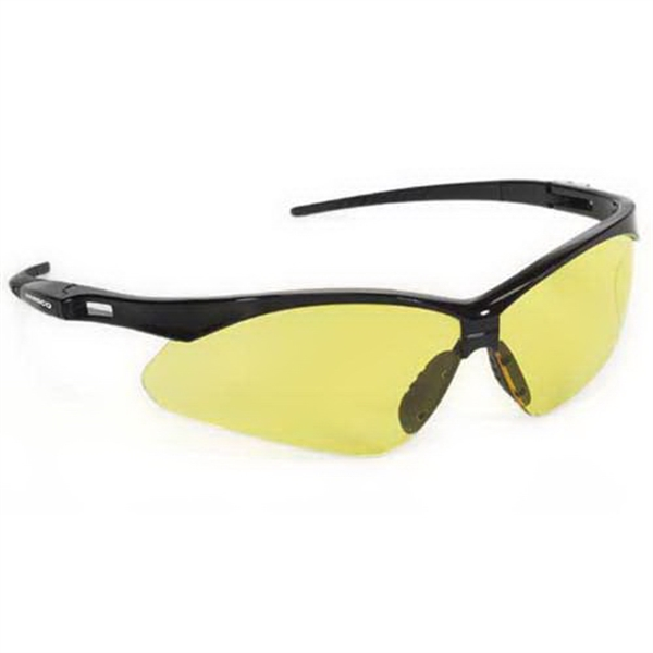 Provizgard - Amber Lens - Premium Sport Style Wrap-around Safety Glasses Photo