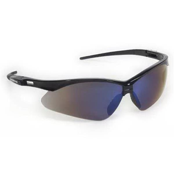 Provizgard - Blue Mirror Lens - Premium Sport Style Wrap-around Safety Glasses Photo