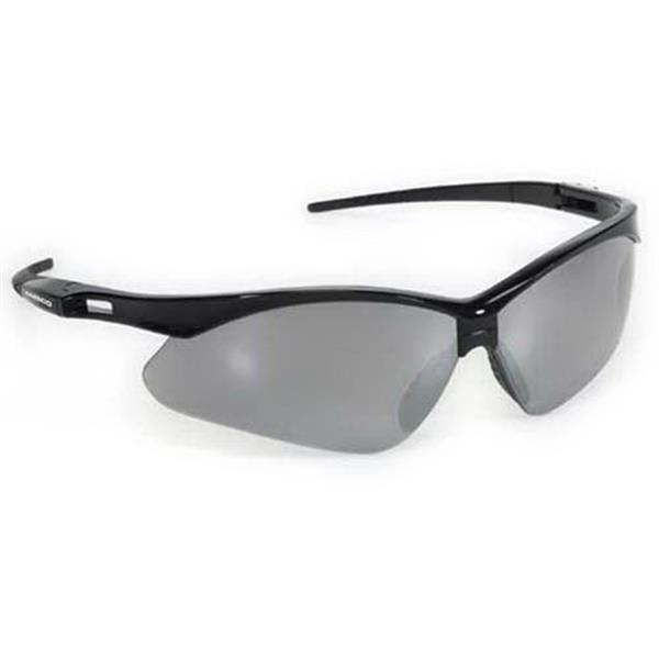 Provizgard - Silver Mirror Lens - Premium Sport Style Wrap-around Safety Glasses Photo