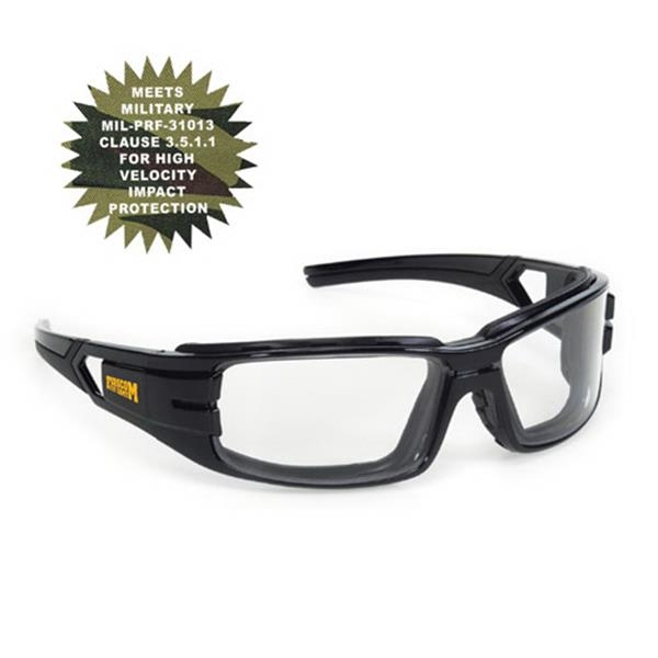 Provizgard - Clear Anti-fog Lens - Trooper Style Premium Safety Glasses Photo