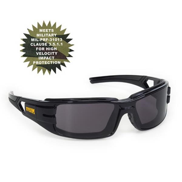 Provizgard - Gray Anti-fog Lens - Trooper Style Premium Safety Glasses Photo