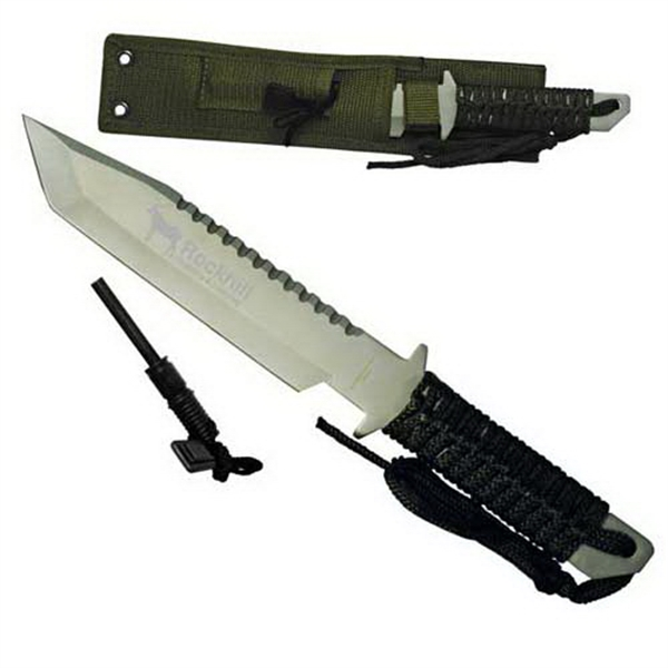 "Hunting Knife With Fire Starter, 11"" Photo"