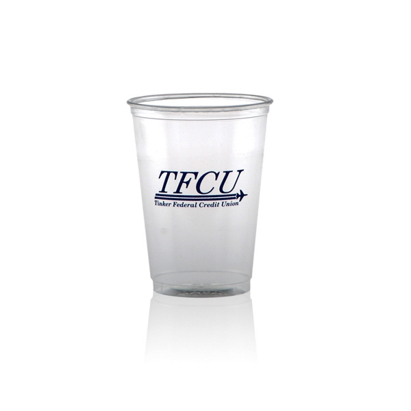 12 oz Soft Sided Clear Plastic Cup - 12 oz Soft Sided Clear Plastic Cup