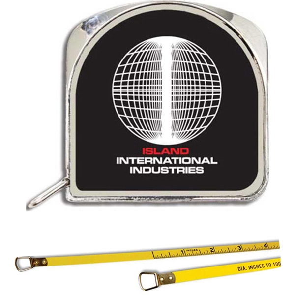 "1/4"" X 6' Diameter Tape Measure, Diameter Inches To 1/100ths Photo"
