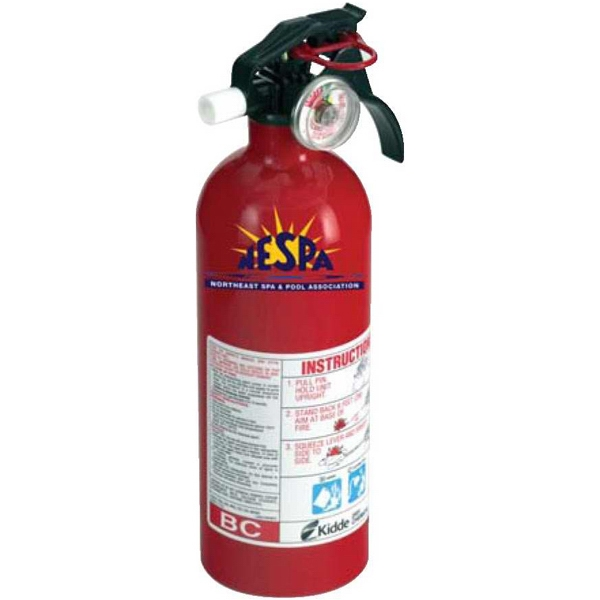 Decal - Basic Extinguisher. 2 Lbs. Of Fire Extinguishing Agent Photo