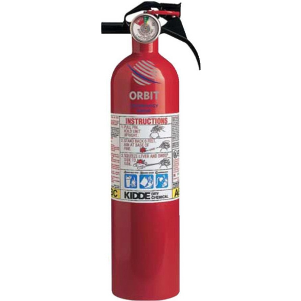 Decal - Full Home Extinguisher. 2.5 Lbs. Of Fire Extinguishing Agent Photo