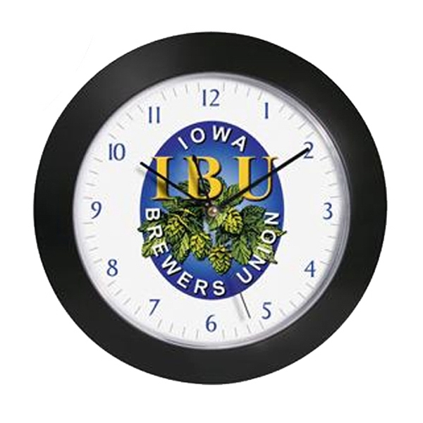 "12"" Diameter Wall Clock Photo"