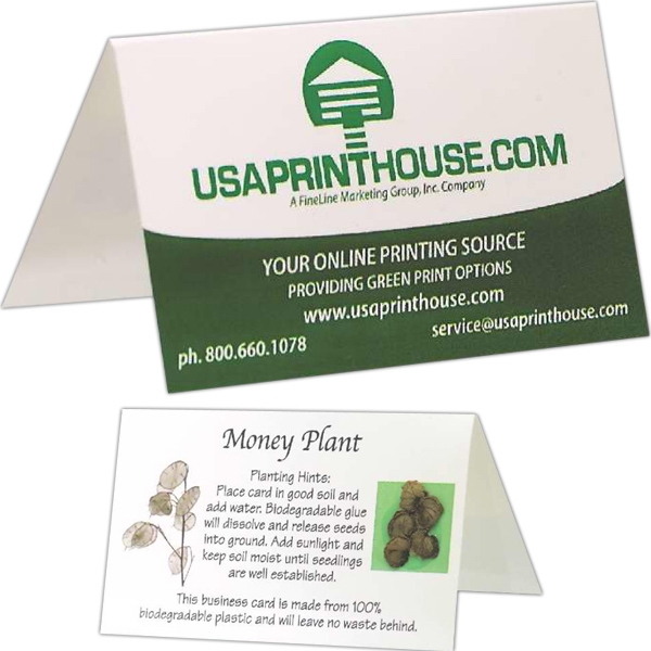 Sprout Tyme - Eco Business Card Photo