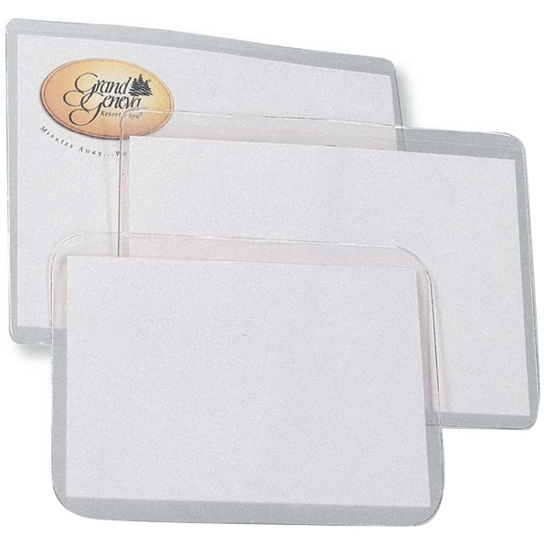 "Blank Laser Printer Inserts For Badge Holders, 8 1/2"" X 11"" Photo"