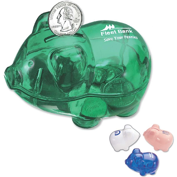 Reusable Piggy Bank With Easy Open Feature Photo