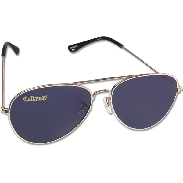 Pilot I - Men's Metal Aviator Sunglasses. 400 Uv Protection Photo
