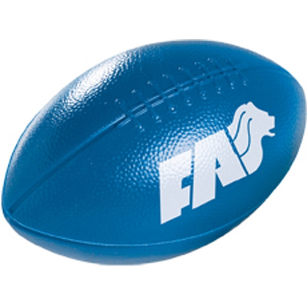 "6"" Plastic Football Photo"