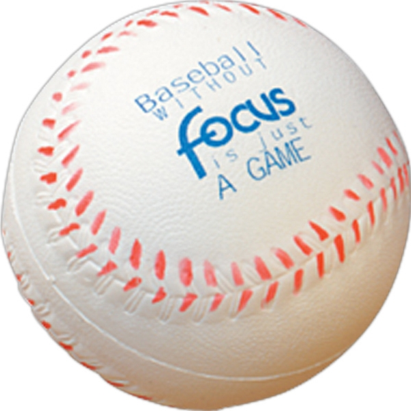 Baseball - Sports Ball Shaped 2-1/2-inch Stress Ball Photo