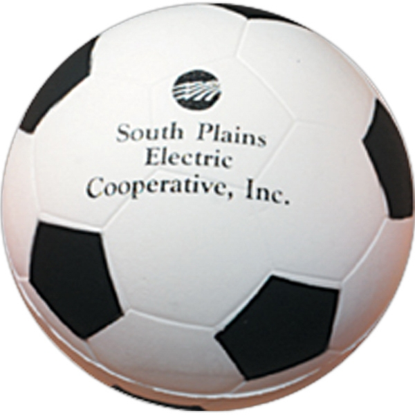 Soccer Ball - Sports Ball Shaped 2-1/2-inch Stress Ball Photo