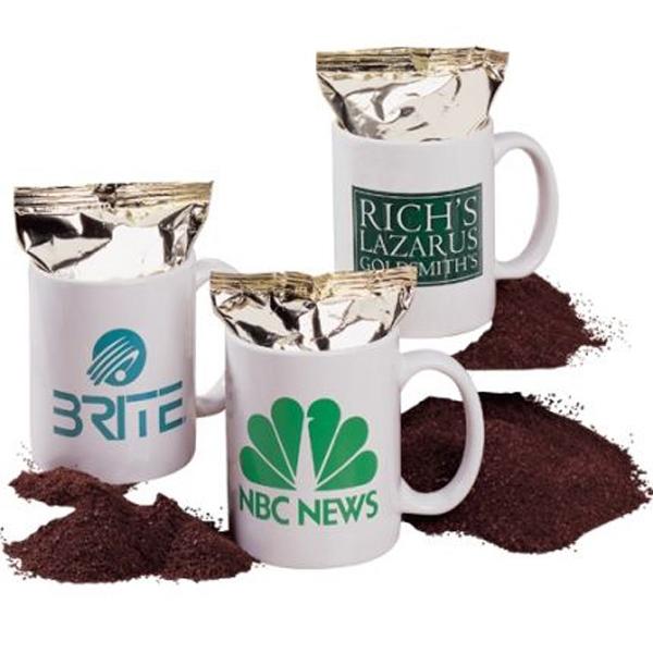 11 oz Coffee mug filled with Gourmet Coffee