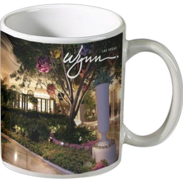 11 oz Ceramic Coffee Mug- Full Color