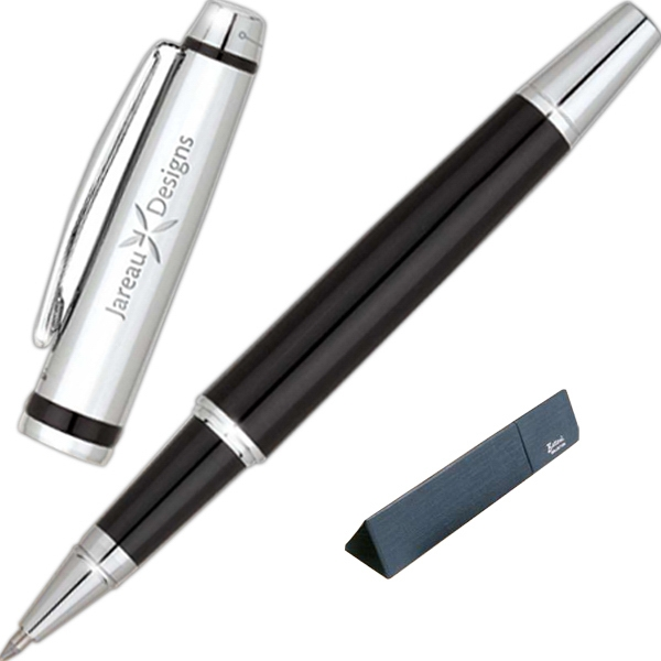 Bettoni (r) - Rollerball Pen With High Gloss Black Lacquer Finish Photo