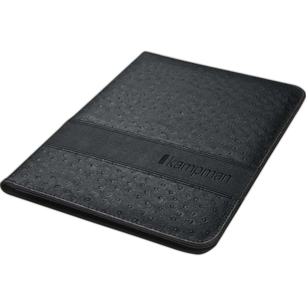 Portfolio With 40-page Writing Pad, Ostrich Skin Finish And Interior File Sleeve Photo