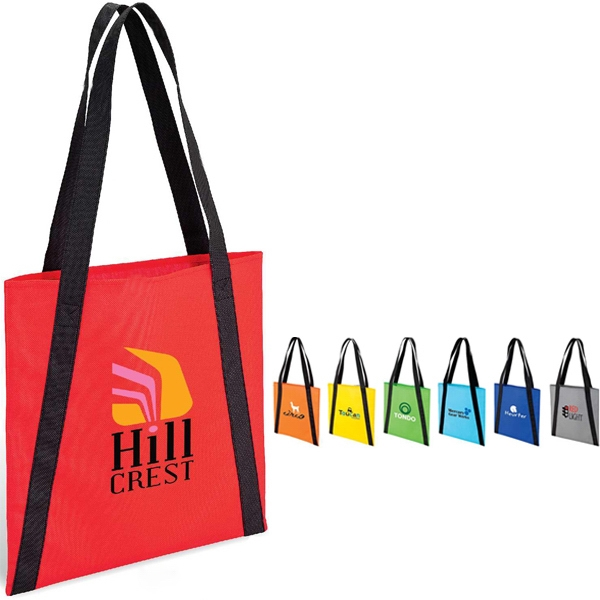 Accent Tote Bag With Reinforced Handles Photo