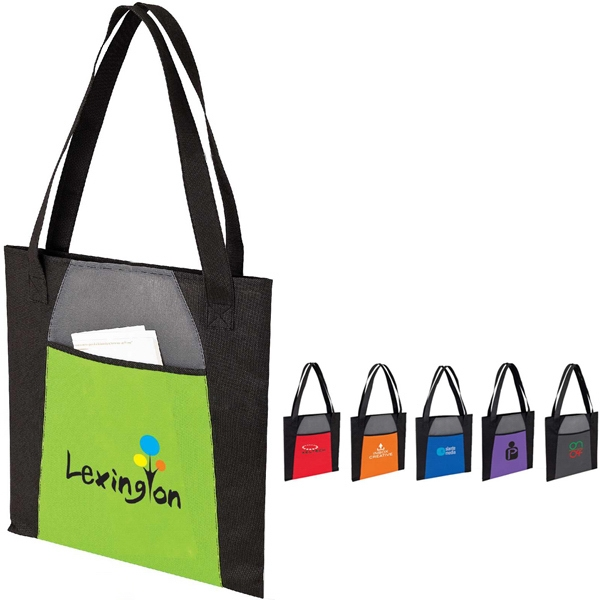 Tote Bag With Front Pocket Photo