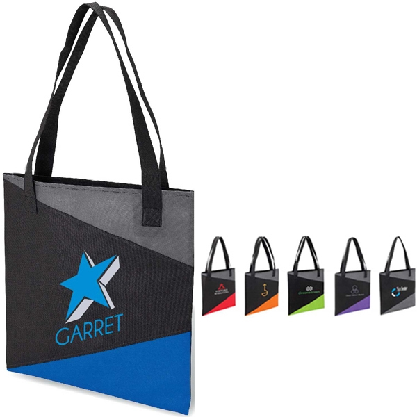 "Slim Accent Tote Bag With 1 1/2"" X 26"" Handles Photo"