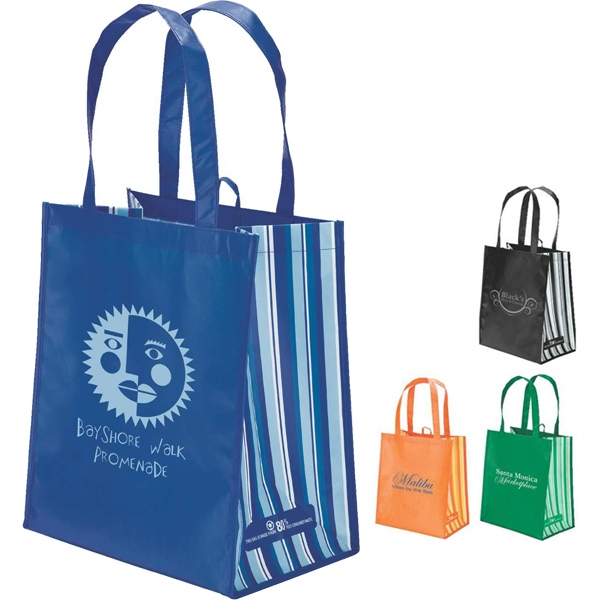 Eco-lifestyle (tm) - Pet Laminate Tote. Recycled Tote Made From Water Bottles Photo