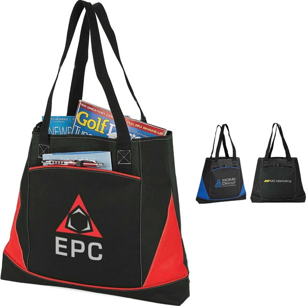 Large Tote With Pocket Photo