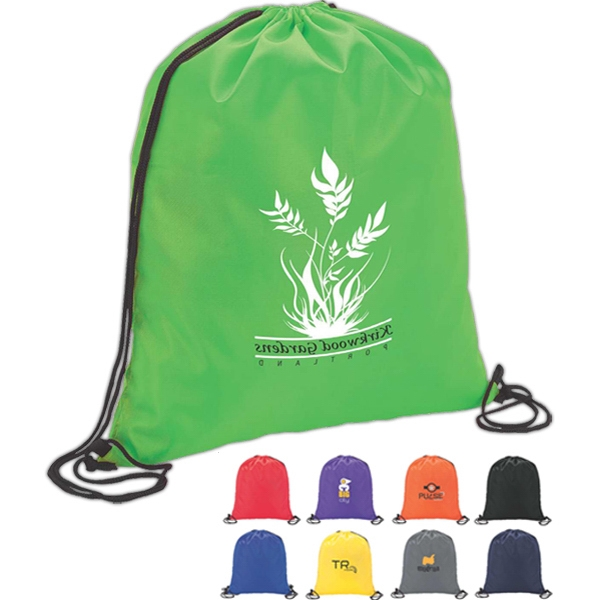 Solid Drawstring Sport Bag Photo