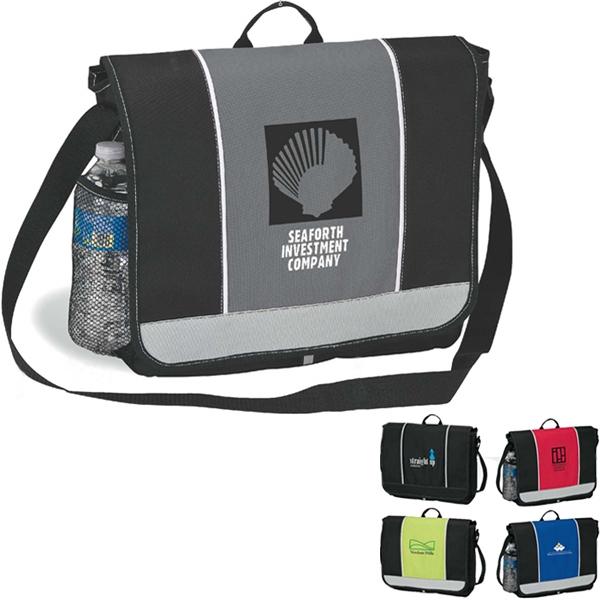 Messenger Bag With Carry Handle Photo