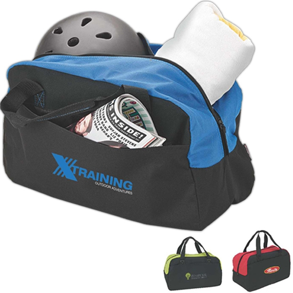 Duffel Bag With Zippered Main Compartment And Handles Photo