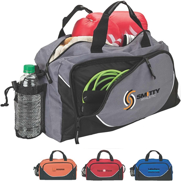 Double Zippered Duffel Bag Photo
