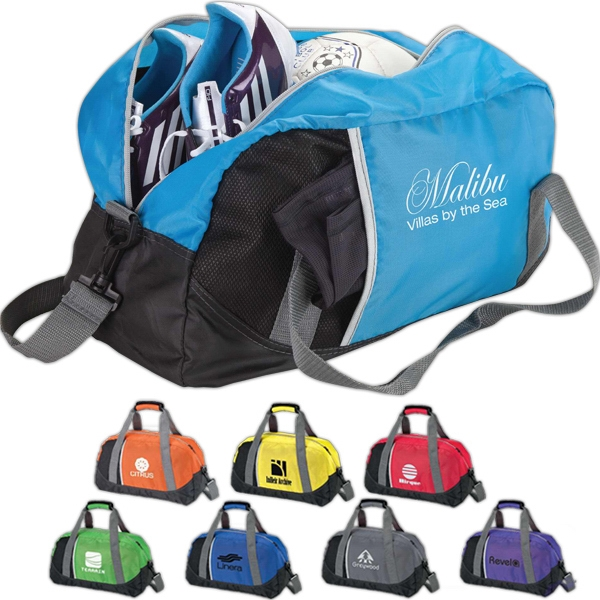 Lightweight Duffel Bag With Removable And Adjustable Shoulder Strap Photo