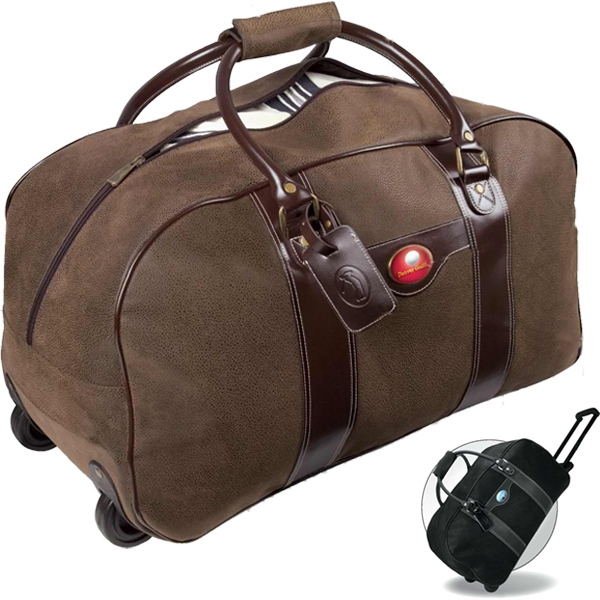 Rolling Bag With Hideaway Pullout Handle Photo